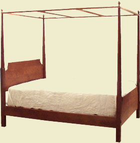 Our Pencil Post Beds Come Standard With Headboard And Footboard 1 2t X 8w Side Rails Mattress Bed Bolts Bolt Covers Finials To Top